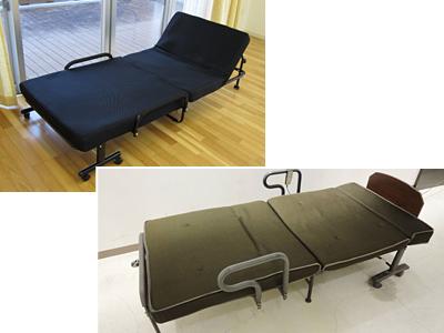折り畳みベッド(部品欠品不可)